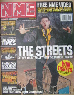 <!--2002-03-16-->NME magazine - The Streets cover (16 March 2002)