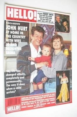 <!--1990-11-17-->Hello! magazine - John Hurt cover (17 November 1990 - Issu