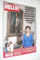 <!--1988-11-26-->Hello! magazine - Princess Margaret cover (26 November 1988 - Issue 28)