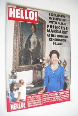 <!--1988-11-26-->Hello! magazine - Princess Margaret cover (26 November 198