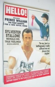 Hello! magazine - Sylvester Stallone cover (28 May 1988 - Issue 2)