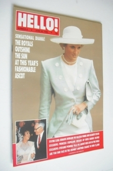 Hello! magazine - Princess Diana cover (25 June 1988 - Issue 6)