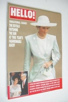 Hello! magazine - Princess Diana cover (25 June 1988 - Issue 6)