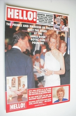 <!--1989-06-24-->Hello! magazine - Princess Diana and Prince Charles cover