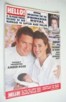 <!--1989-09-09-->Hello! magazine - Simon Le Bon and Yasmin Le Bon and Amber Rose Le Bon cover (9 September 1989 - Issue 68)