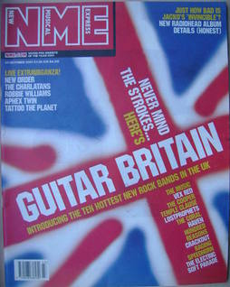 <!--2001-10-27-->NME magazine - Guitar Britain cover (27 October 2001)