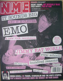 <!--2002-01-26-->NME magazine - EMO cover (26 January 2002)
