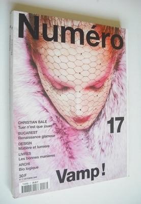 <!--2000-10-->Numero magazine - November 2000 - Kristina Tsirekidze cover