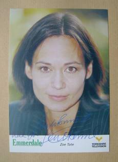 Leah Bracknell autograph
