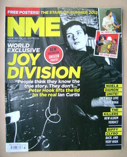 <!--2012-09-15-->NME magazine - Ian Curtis cover (15 September 2012)