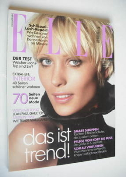 German Elle magazine - August 2004 - Yvke Sturm cover