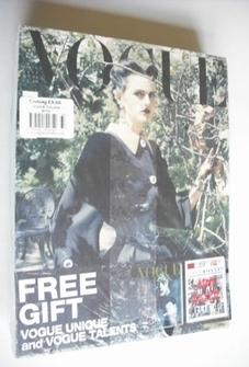 <!--2011-09-->Vogue Italia magazine - September 2011 - Stella Tennant cover