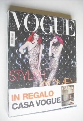 <!--2009-10-->Vogue Italia magazine - October 2009 - Rianne Ten Haken and K