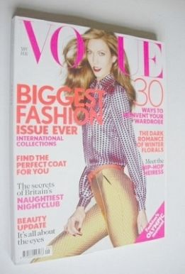 <!--2012-09-->British Vogue magazine - September 2012 - Karlie Kloss cover