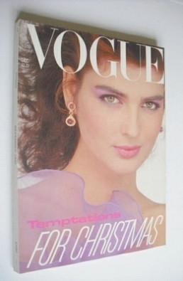 <!--1981-12-->British Vogue magazine - December 1981 (Vintage Issue)