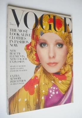 <!--1969-04-15-->British Vogue magazine - 15 April 1969 - Maudie James cove