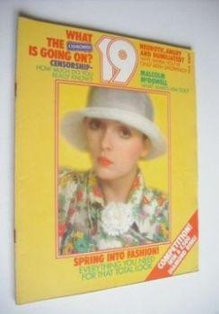 19 magazine - April 1973
