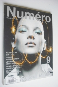 Numero magazine - December 1999/January 2000 - Kate Moss cover