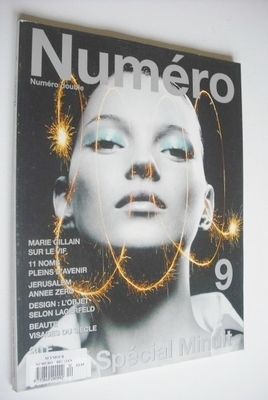 <!--1999-12-->Numero magazine - December 1999/January 2000 - Kate Moss cove