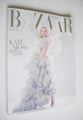 <!--2011-05-->Harper's Bazaar magazine - May 2011 - Kate Moss cover (Subscr