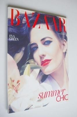 <!--2011-06-->Harper's Bazaar magazine - June 2011 - Eva Green cover (Subsc