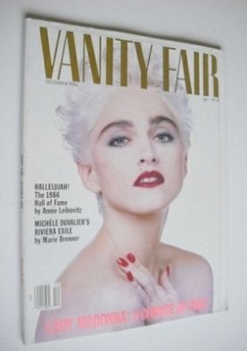 <!--1986-12-->US Vanity Fair magazine - Madonna cover (December 1986)