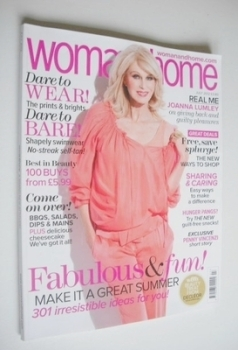 Woman & Home magazine - July 2012 (Joanna Lumley cover)