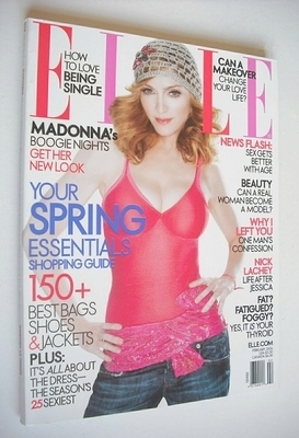 <!--2006-02-->US Elle magazine - February 2006 - Madonna cover