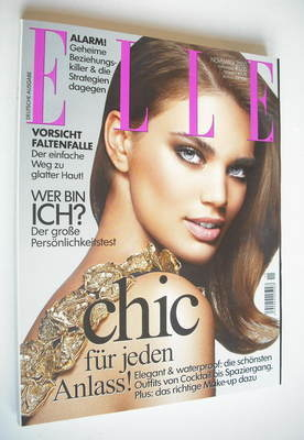 <!--2007-11-->German Elle magazine - November 2007 - Rianne Ten Haken cover