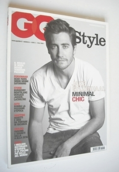 Italian GQ Style magazine - April 2006 - Jake Gyllenhaal cover