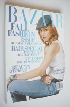 Harper's Bazaar magazine - September 2003 - Madonna cover