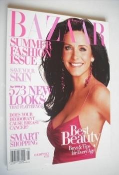 Harper's Bazaar magazine - May 2004 - Courteney Cox cover