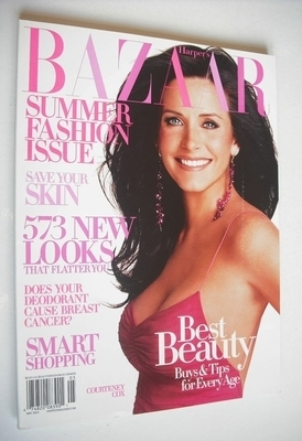 <!--2004-05-->Harper's Bazaar magazine - May 2004 - Courteney Cox cover