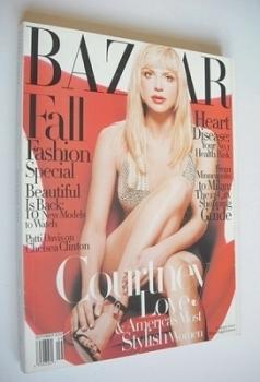 Harper's Bazaar magazine - September 1997 - Courtney Love cover