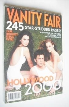 Vanity Fair magazine - Hollywood 2000 cover (April 2000)