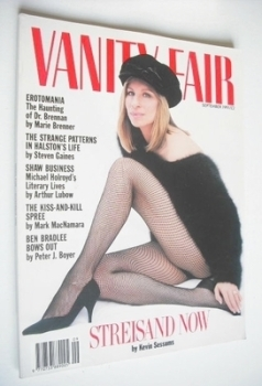 Vanity Fair magazine - Barbra Streisand cover (September 1991)