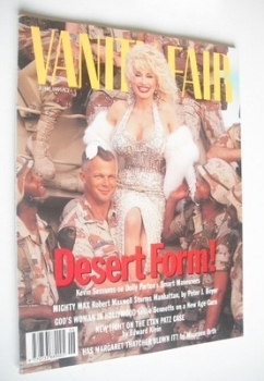 Vanity Fair magazine - Dolly Parton cover (June 1991)