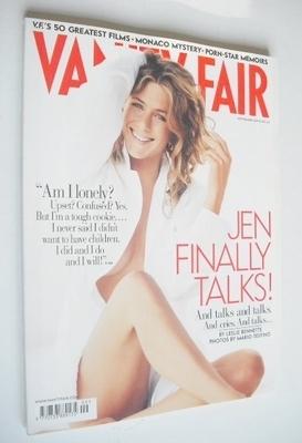<!--2005-09-->Vanity Fair magazine - Jennifer Aniston cover (September 2005