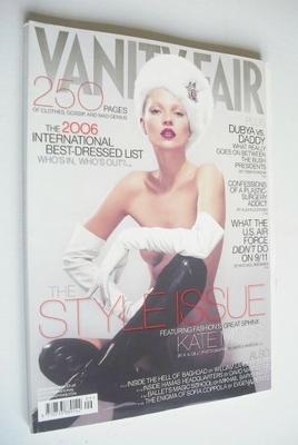 <!--2006-09-->Vanity Fair magazine - Kate Moss cover (September 2006)