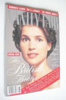 Vanity Fair magazine - Julia Ormond cover (November 1995)