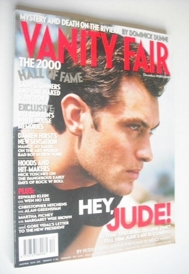 <!--2000-12-->Vanity Fair magazine - Jude Law cover (December 2000)