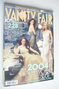 Vanity Fair magazine - The 2004 Hollywood Issue (March 2004)