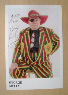George Melly autograph