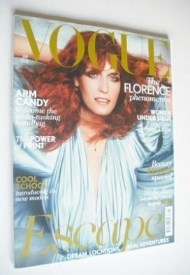 <!--2012-01-->British Vogue magazine - January 2012 - Florence Welch cover