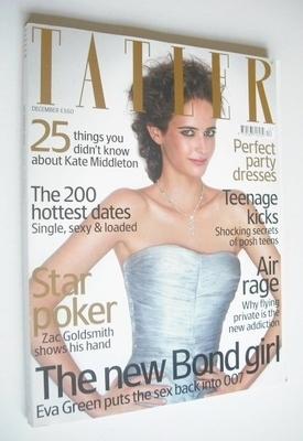 <!--2006-12-->Tatler magazine - December 2006 - Eva Green cover