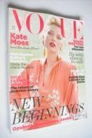 <!--2011-08-->British Vogue magazine - August 2011 - Kate Moss cover