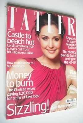 <!--2007-05-->Tatler magazine - May 2007 - Rose Byrne cover