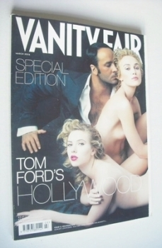 Vanity Fair magazine - Tom Ford, Keira Knightley and Scarlett Johansson cover (March 2006)