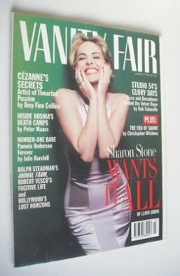 <!--1996-03-->Vanity Fair magazine - Sharon Stone cover (March 1996)