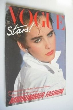 <!--1983-07-->British Vogue magazine - July 1983 (Vintage Issue)